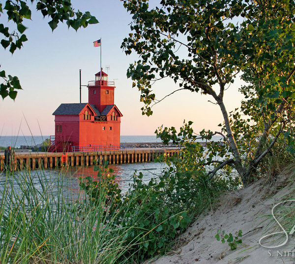 Big Red Lighthouse - Holland, Michigan